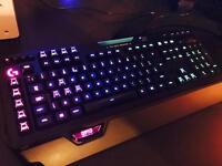 Logitech G910 Orion Spectrum keyboard