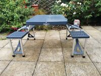 Folding Camping Table And Chairs