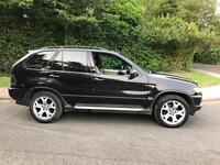 2002 BMW X5 3.0d sport auto black spares or repairs bargain