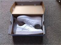 White airforce one Nike trainers UK size 4 👟