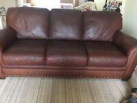 Leather sofa 3-2-1