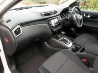 Nissan Qashqai 1.6 dCi Acenta Premium 5dr Xtronic (white) 2014