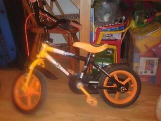 kids action man bike