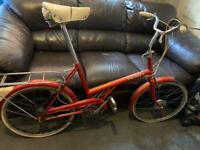 Raleigh Twenty Vintage Bike Great Condition