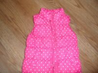 Pink Baby Gap bodywarmer age 3