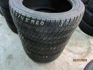 275/45R20 2 ONLY USED COOPER A/S TIRES