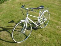 """Raleigh Candice 7 speed Classic Ladies Bicycle 19""""frame"""