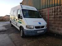 ambulance tax band,diesel ,van,camper,horsebox conversion.