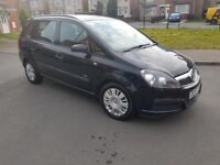 2008 VAUXHALL ZAFIRA 7 SEATER 1.6LTRS PETROL MANUAL WEEKEND BARGAIN ONLY £998 CALL 07440307417