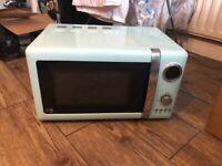 Microwave, kettle, blender, toaster