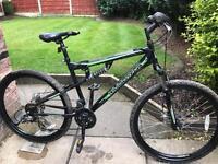 adults muddyfox livewire double disc mountain bike