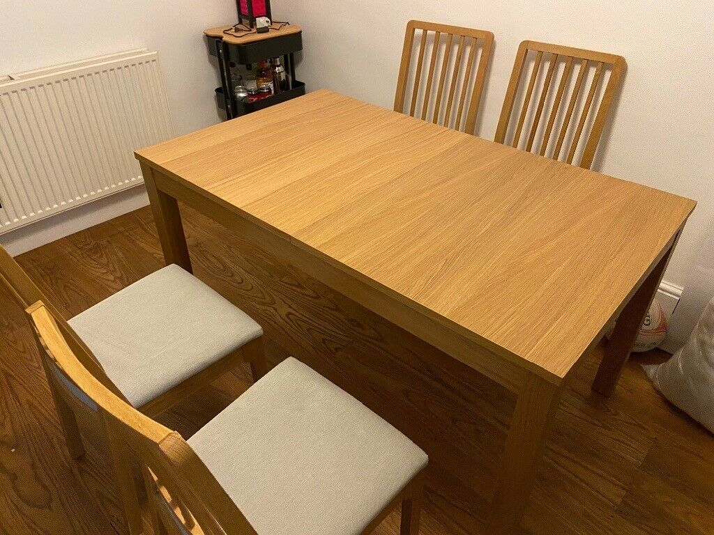 Ikea Extendable Dining Table And Chairs In Southville Bristol Gumtree