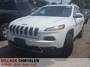 2016 Jeep Cherokee FWD LIMITED, Leather,UConnect