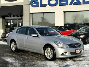 2012 Infiniti G37X Luxury ***NEW PRICE***NAVIGATION ALL WHEEL DR