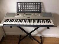 Yamaha PSR E313 keyboard & stand