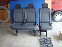 Vw Transporter T5 2+1 Rear Seats Tassimo
