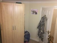 Double Wardrobe, Dressing Table, Bedside Draws, Mirror MFI Solid, in Beach