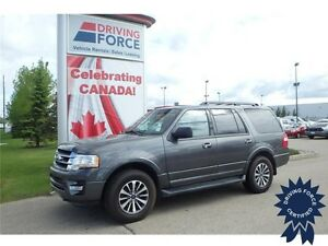 2016 Ford Expedition XLT 4x4 - 74,170 KMs, 8 Passenger SUV, 3.5L