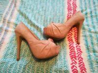 Mix of ladies shoes. Ralph Lauren. Kurt Geiger. River Island
