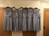 Six Bridesmaid Dresses