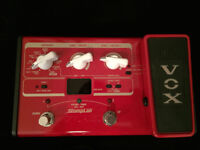 Bass Pedal - Vox Stomplab llB multi effect