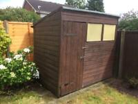 Garden Shed 7ft x5ft. Free to collector.