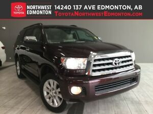 2014 Toyota Sequoia Platinum | BlueRay | Heat Cooled Seats | Lea