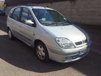 Renault Megane Scenic 2.0 16v Expression 5dr (Silver) 2002