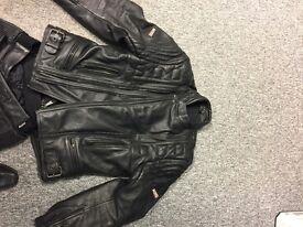 Akito 2 piece bike leathers