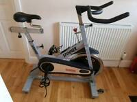 Star trak spinner pro commercial gym excercise bike