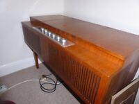 HMV 60's Record Player in Teak Cabinet