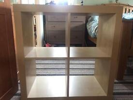Widen cube storage unit