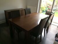 Quality Dining Table & 4 Chairs