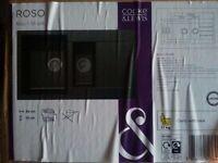 Sink - Cooke & Lewis Roso 1.5 Bowl Black Composite
