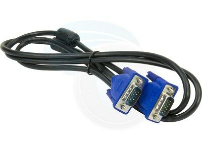 (VGA Computer Cable VGA to VGA 15pin (4ft) 1.3M Monitor LCD Display)