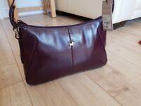Genuine Radley Handbag Womens Bag Dark Purple New