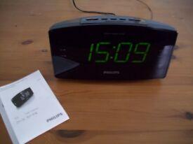 Philips AJ3400/05 Jumbo Display Alarm Clock Radio