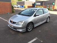 2003 HONDA CIVIC 2.0 TYPE R EP3 SILVER