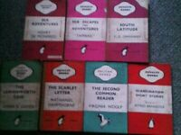 Old Penguin and Pelican Books [good condition]