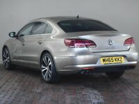 VOLKSWAGEN CC 2.0 TDI 150 BLUEMOTION TECH GT [Heated Fine Nappa Leather] 4DR (gold) 2016