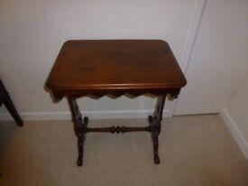 Mahogany Occaional Table