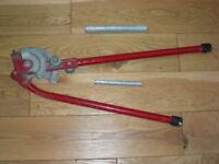 PIPE BENDING TOOL for 15mm and 22 mm tube