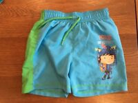 Mike the Knight Swimming Shorts, Age 3-4 years, Excellent Condition