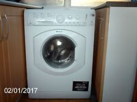Hotpoint Aquarius All-in-One -1400 spin 7Kg washer dryer White