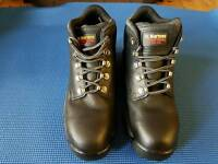 Dr. Martin's steel toe safety boots