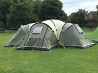 Bargain tent Outwell Hartford XL 6 to 8 person family tent