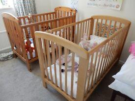 John Lewis cot bed x 2