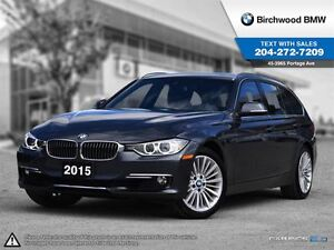 2015 BMW 3 Series 328i xDrive Local One Owner! Clean Carproof!