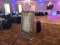 Photo Mirror Hire - Weddings/ Parties / Events