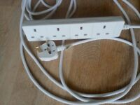 Used 10 metres Electric Extension Leads
